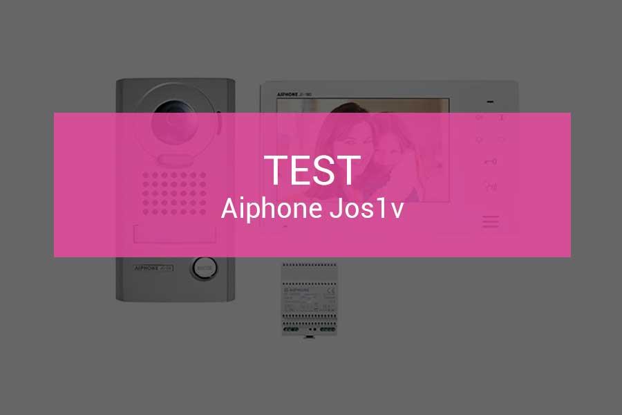 test-aiphone-jos1v-visiophone-haut-de-gamme