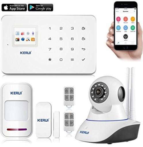 kit surveillance alarme maison
